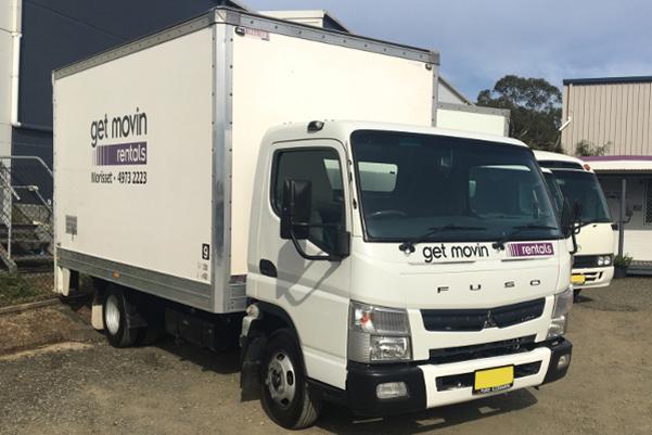 Morisset 3 tonne Pantech Truck Rental